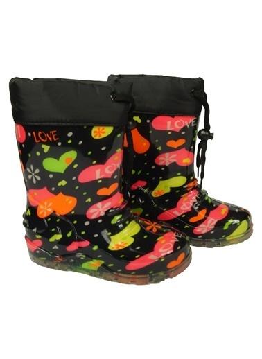 Jollybaby Yağmur Çizmesi Siyah